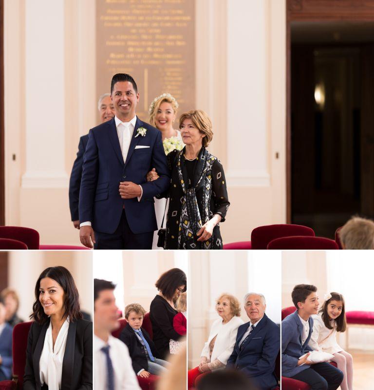 mariage civil à la mairie d'Issy-Les-Moulineaux