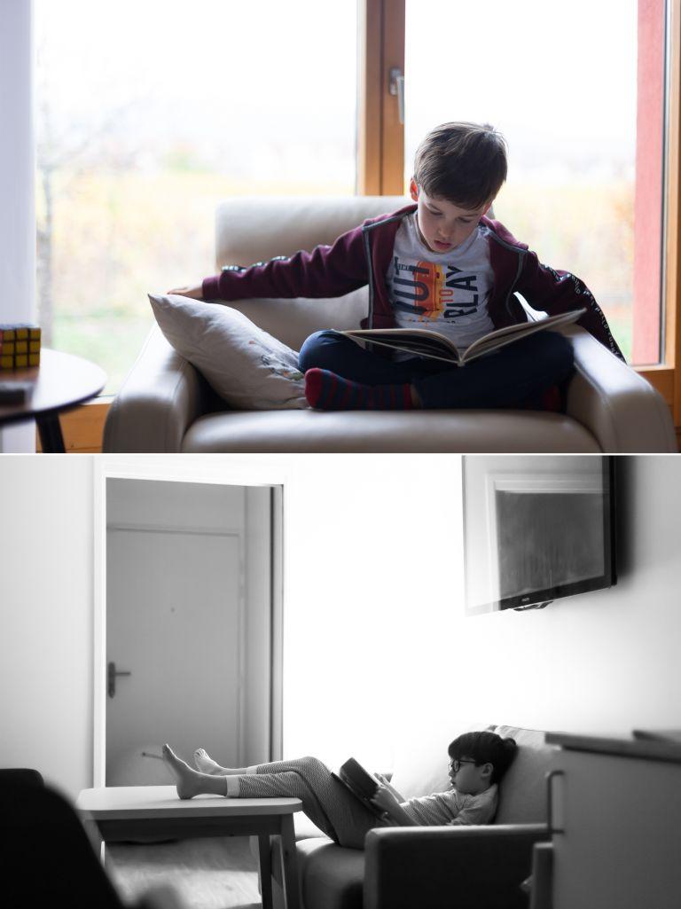 Un moment dans notre vie - Une passion pour la lecture