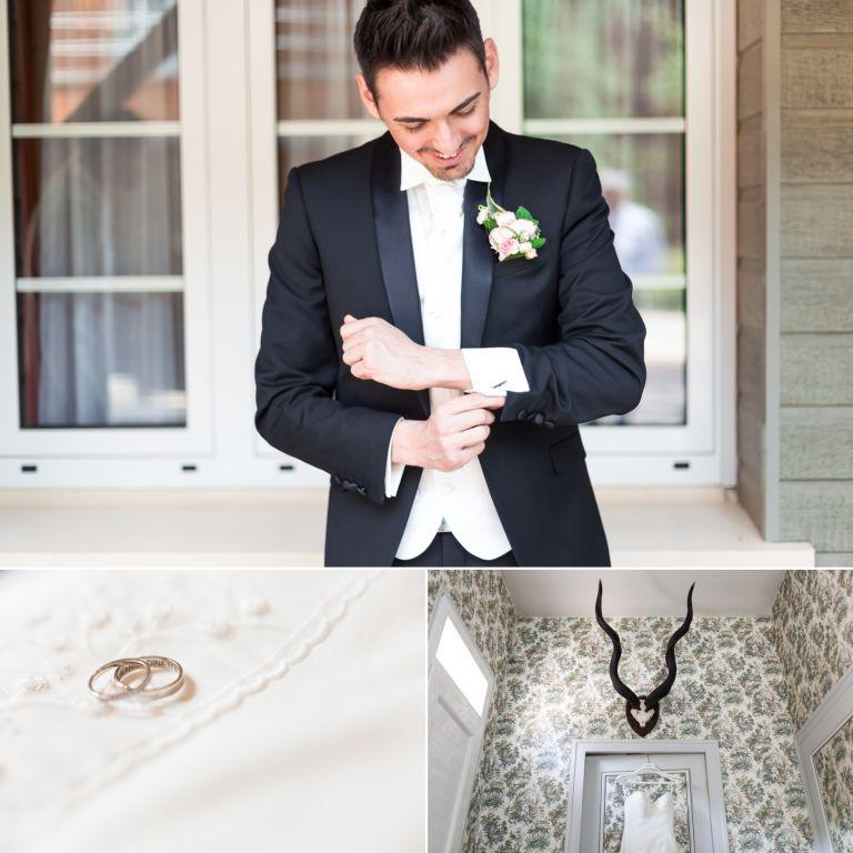 Photographe de mariage au domaine de la muette