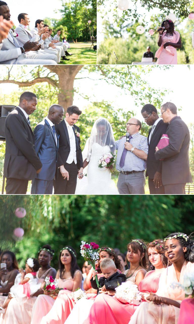 Reportage de mariage en extérieur