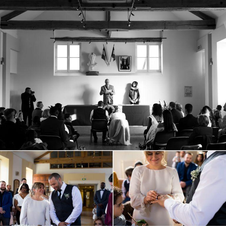 cérémonie de mariage civil dans les Yvelines