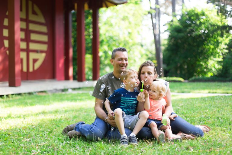 séances photo en extérieur en famille