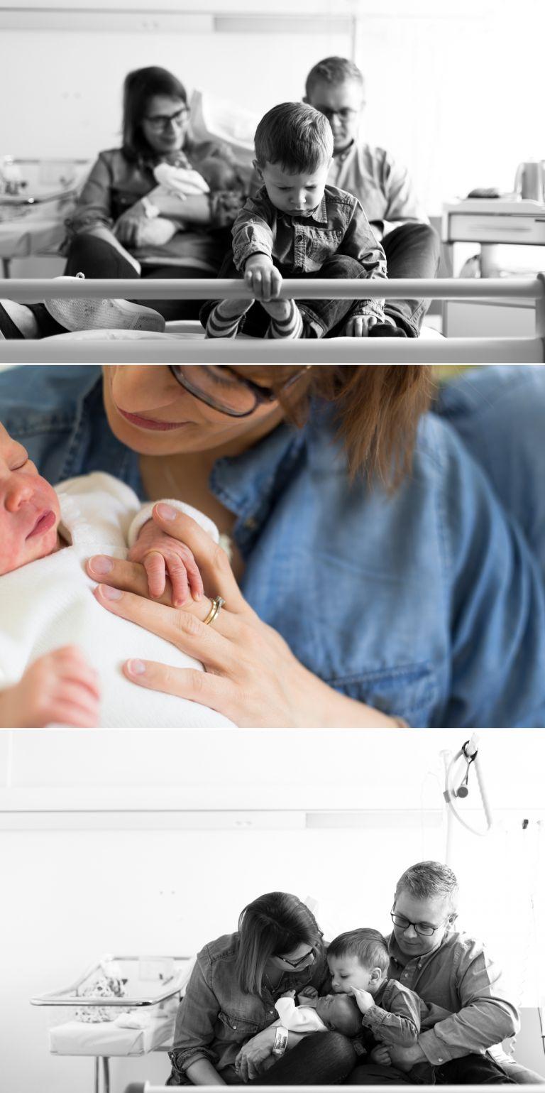 photographe lifestyle à la maternité