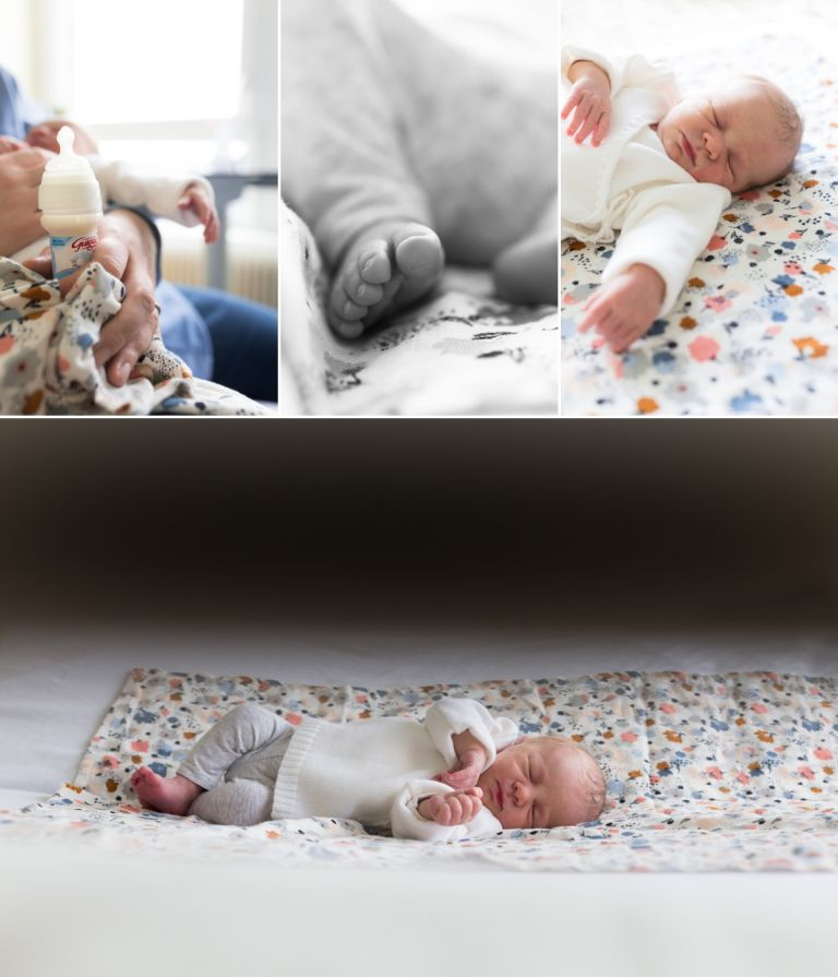 les détails de bébé à la maternité