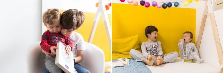 photographier ses enfants lors d'un projet photo