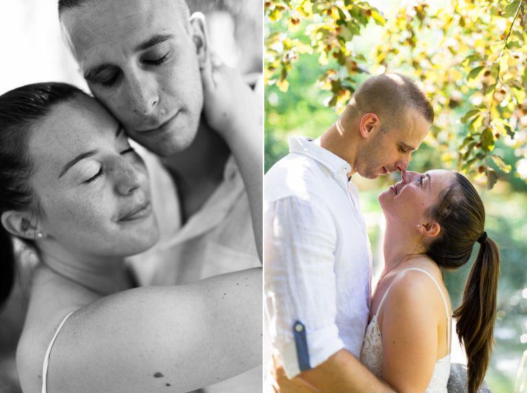 photos de couple le jour du mariage