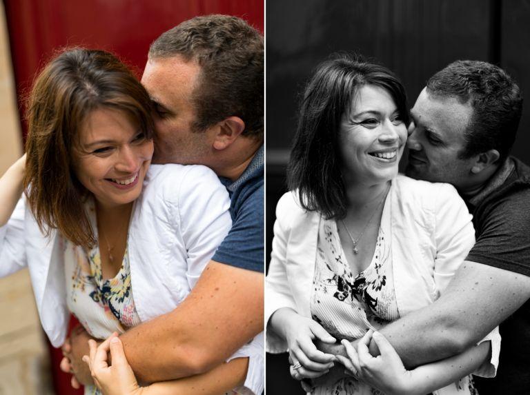Une séance couple dans les rues de Paris