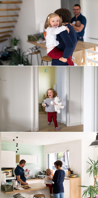 séance nouveau-né à domicile en famille