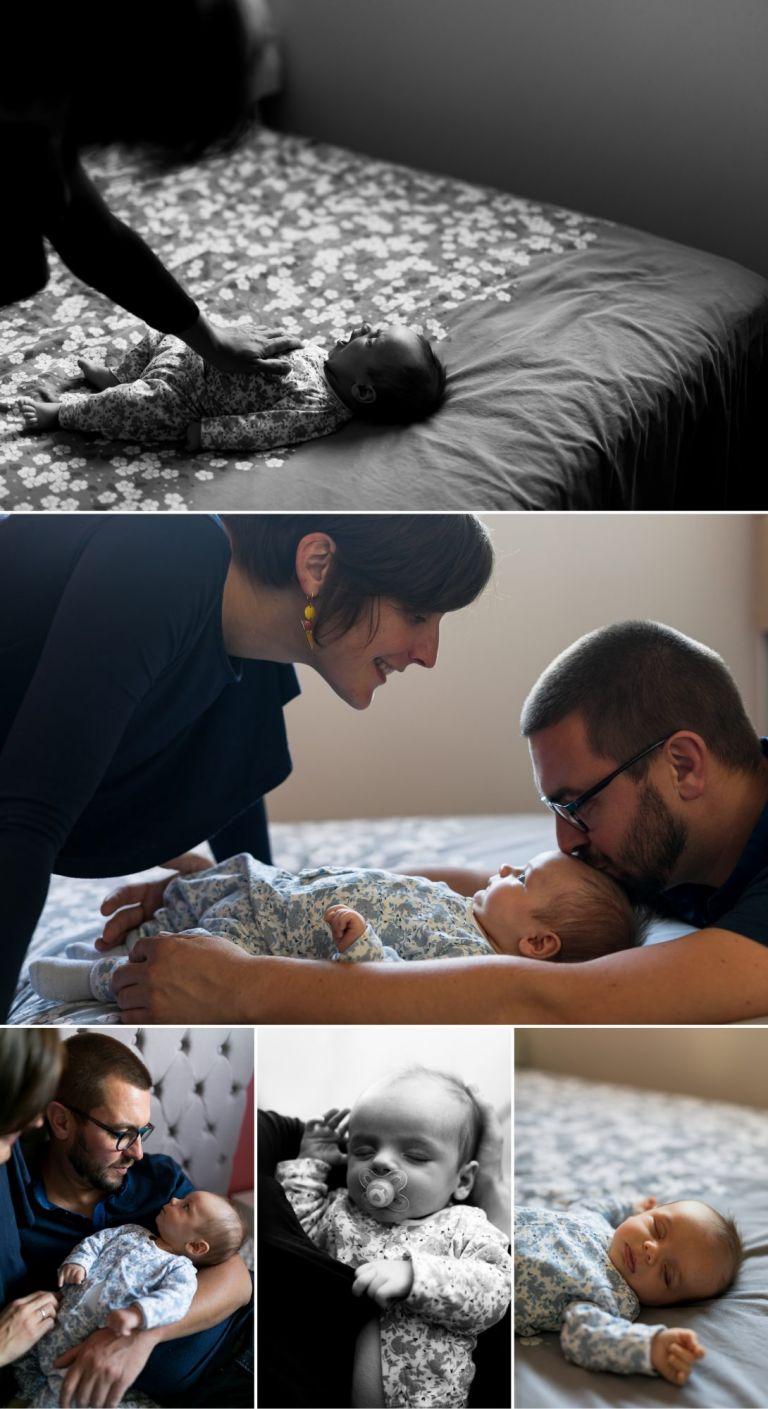 séance nouveau-né en famille