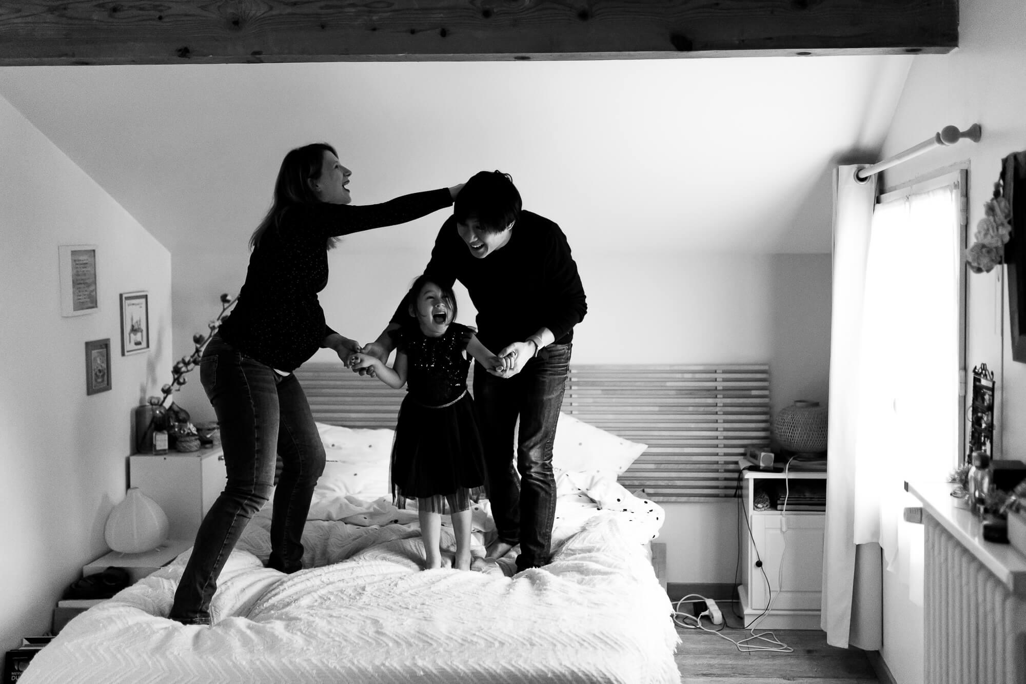 La séance grossesse à domicile d'Alison & Davy