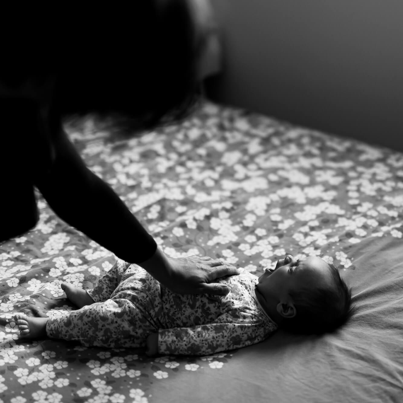 Photographe nouveau-né à domicile