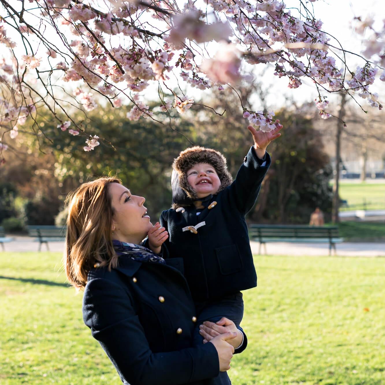 photographe famille en extérieur